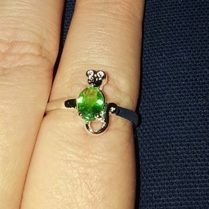 Jewelry - Peridot cat